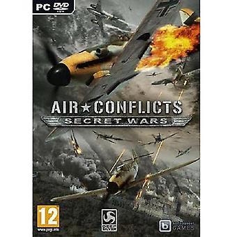 Powietrza konfliktów tajnych wojen gry PC