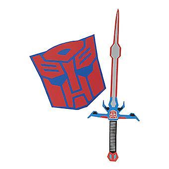 Optimus Prime kostume sæt sværd og skjold for børn