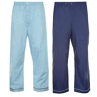 Mistrz piżamy męskie spodnie DNA tkaniny sytowe (opakowanie 2)
