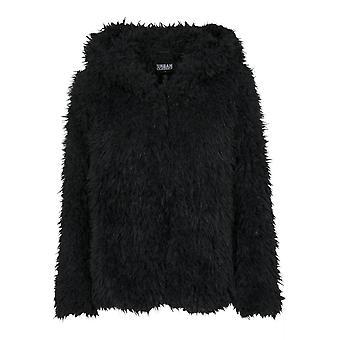 Urban klassikere damer overgang jakke hætteklædte Teddy