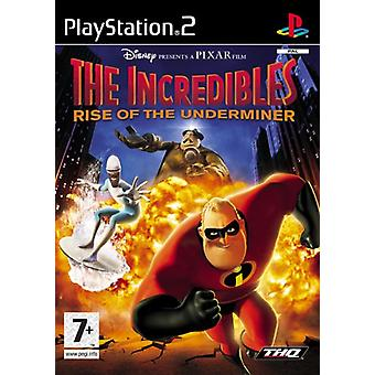 The Incredibles Rise Of The Underminer (PS2) - New Factory Sealed