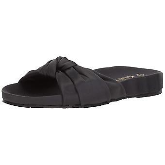 Kaanas Womens Santa Rosa Twist Turban Open Toe Casual Slide Sandals