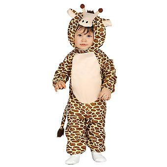 Pikkulapsille kirahvi naamiaispuku puku