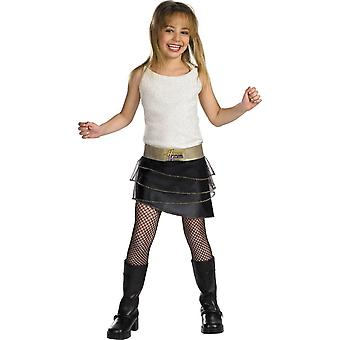 Hannah Montana barn kostume