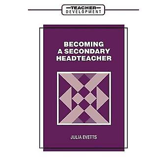 Evetts ・ ジュリアによってセカンダリ ヘッド教師になります。