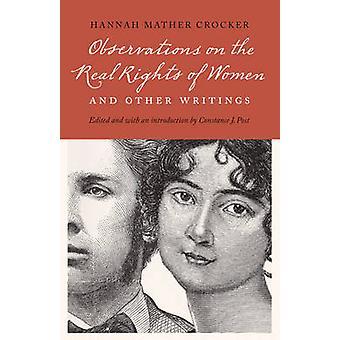 Bemærkninger om de reelle rettigheder for kvinder og andre skrifter af Crocker & Hannah