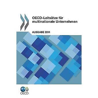 OECDLeitsatze fourrure Multinationale Unternehmen par Oecd Publishing