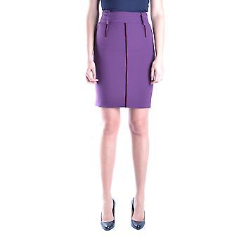 Just Cavalli Ezbc141023 Mujeres's Falda de Poliéster Púrpura