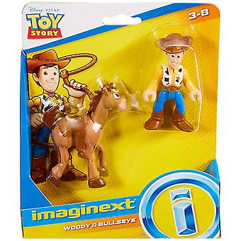 Imaginext Toy Story Doppelpack - Woody & Bullseye