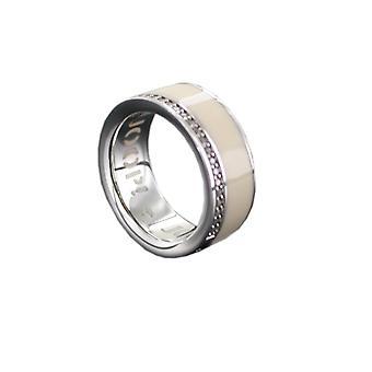 Joop women's ring silver zirconia JESSICA JPRG90653B