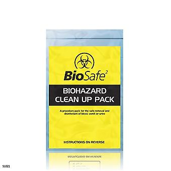 Biosafe Biohazard Standard Clean Up Pack