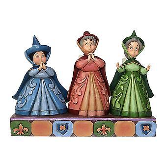 Figurine de Disney traditions trois fées «invités royaux»