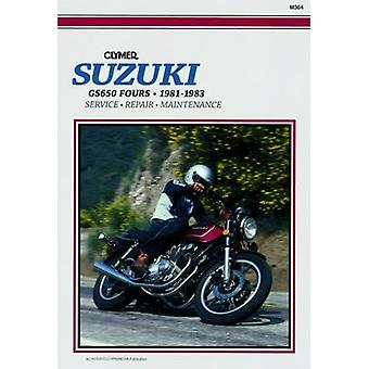Suzuki GS650 Fours - 1981-83 - Clymer Workshop Manual (2nd Revised edi