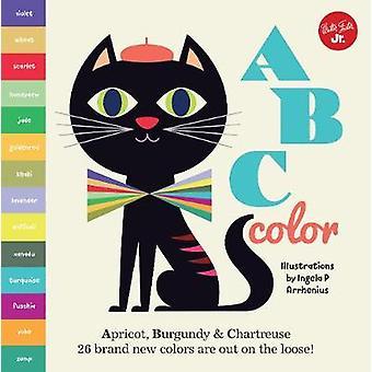 Little Concepts - ABC Color - Apricot - Burgundy & Chartreuse - 26 cool