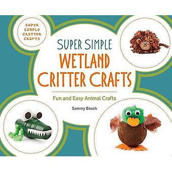 Super Simple Wetland Critter Crafts - Fun and Easy Animal Crafts by Sa