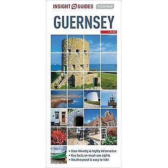 Insight Guides Flexi Map Guernsey - 9781786719423 Book