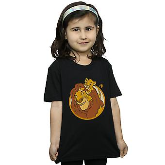 Disney Girls The Lion King Mufasa And Simba T-Shirt