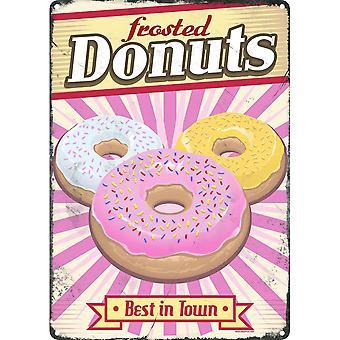 Grindstore fosco donuts Tin Sign