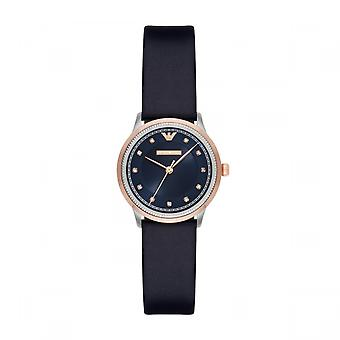 Emporio Armani Ar2066 Cuff Navy Blue Dial Ladies Watch
