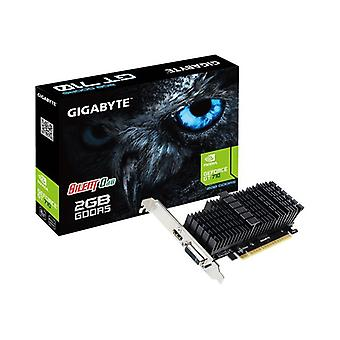 Gigabyte GF GT710 PCIe X8 2GB DDR5 DVI HDMI Fanless Low Profile
