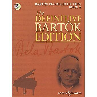 Bartok Piano Collection Book 2 - The Definitive Bartok Edition - piano - sheet music with CD - (BH 13199) (The...