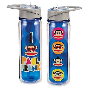 Tritan Watter Bottle - Paul Frank - 18oz Cup Gifts Toys New Licensed 46010
