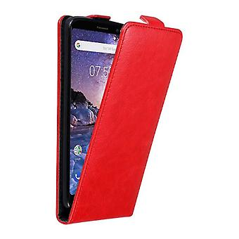 Cadorabo Case cover for Nokia 7 PLUS Case Cover - Phone case in flip design with magnetic clasp - Case Cover Case Case Case Case Book Folding Style