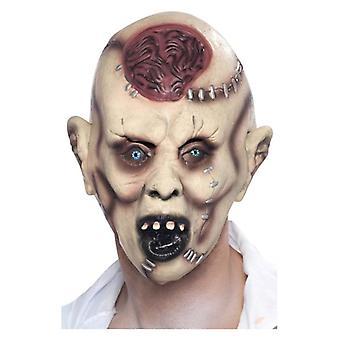 Mens Autopsy Zombie Mask Halloween Fancy Dress Accessory