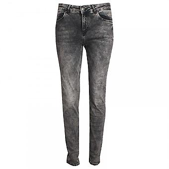Oui Women's Straight Leg Slim Fit Jeans