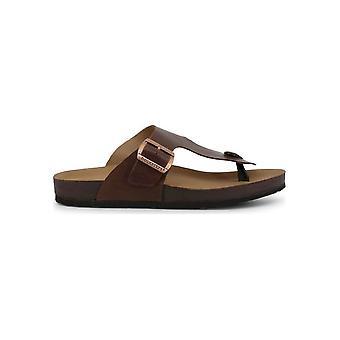 Docksteps - Shoes - Flip Flops - VEGA-2284_TDM - Men - saddlebrown - 42
