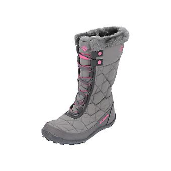 Columbia YOUTH MINX-#153; MID II WATERPROOF OMNI-HEAT-#153; Kids Boots Grey