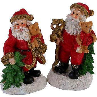 Retro Christmas Santa Figure