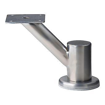 Edelstahl Design Möbel Bein 11,5 cm