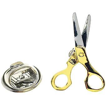 Bassin och Brown sax lapel PIN-silver/guld