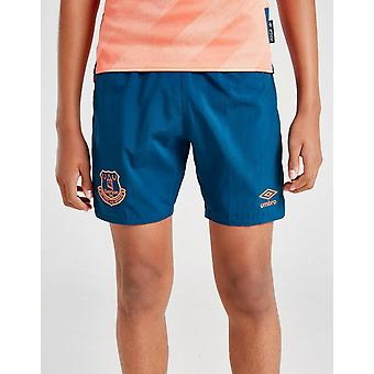New Umbro Everton FC 2019/20 Away Shorts Junior Navy