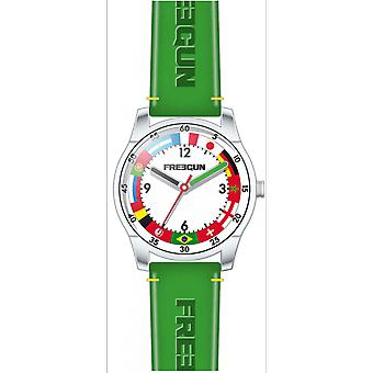 Shows Freegun EE5243 - leather green steel joint child