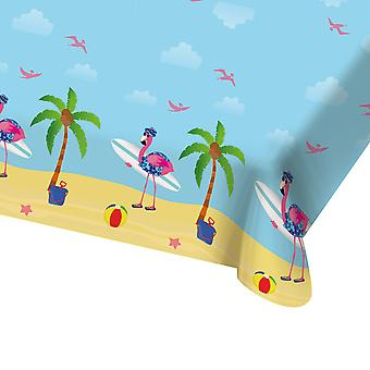 Table cloth tablecloth tablecloth Flamingo Beach Party birthday 130x180cm