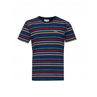 Lacoste Gestreept Jersey T-shirt