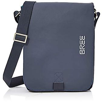 Bree Punch 52 Shoulder Bag - Unisex Adult Silber Shoulder Bags (Blue) 6.5x26x21 cm (B x H T)