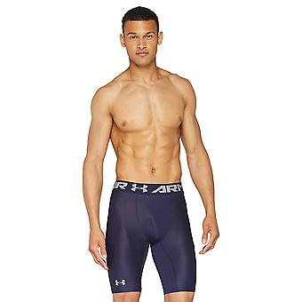 Under Armour Men's HeatGear Armour 2.0 Long Shorts, Midnight, Blue, Size X-Large