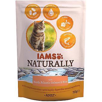 IAMS Naturally Adult Cat Salmon (Cats , Cat Food , Dry Food)