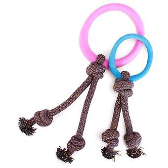 Beco Juguete Hoop con Cuerda Rosa (Dogs , Toys & Sport , Chew Toys)