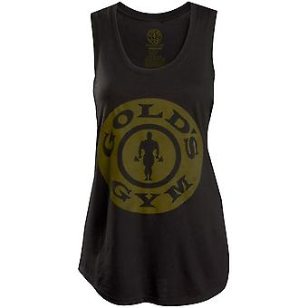 Gold's Gym Women's Weight Plate Racerback Tank Top - Black