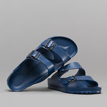 Birkenstock Arizona 129431 (reg) Unisex Eva Two Strap Sandals Navy