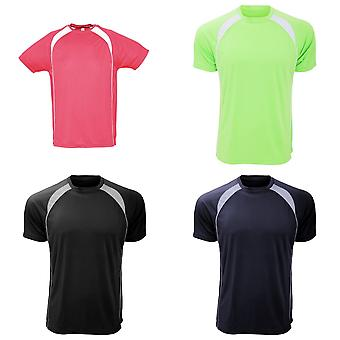 SOLS Mens Match Contrast Short Sleeve Performance T-Shirt