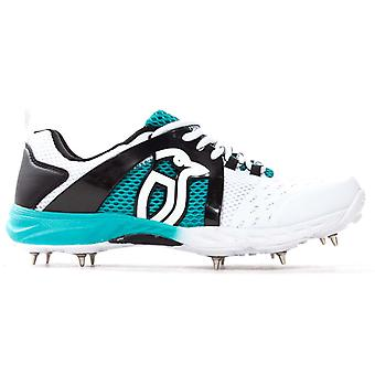 Kookaburra 2018 Ultimate 5000 Męskie buty do krykieta Spike White/Teal