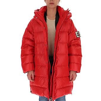 Na Label Al039450 Women's Red Polyester Down Jacket
