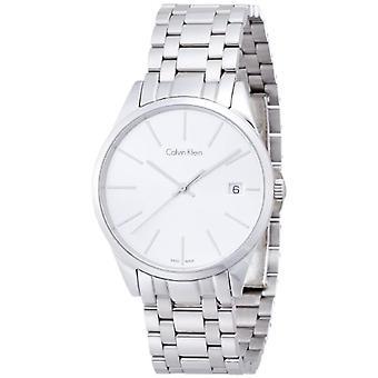 Calvin Klein women's Quartz analogue watch with stainless steel band K4N23146