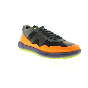 Camper Marges Sport  Mens Orange Lace Up Low Top Sneakers Shoes