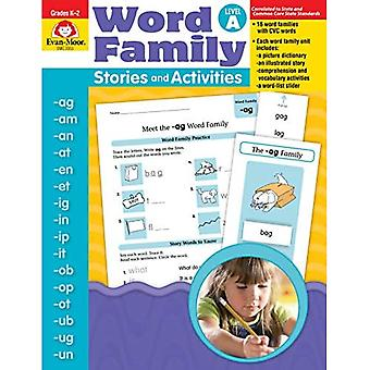 Word Family Stories &; Activities, Level A